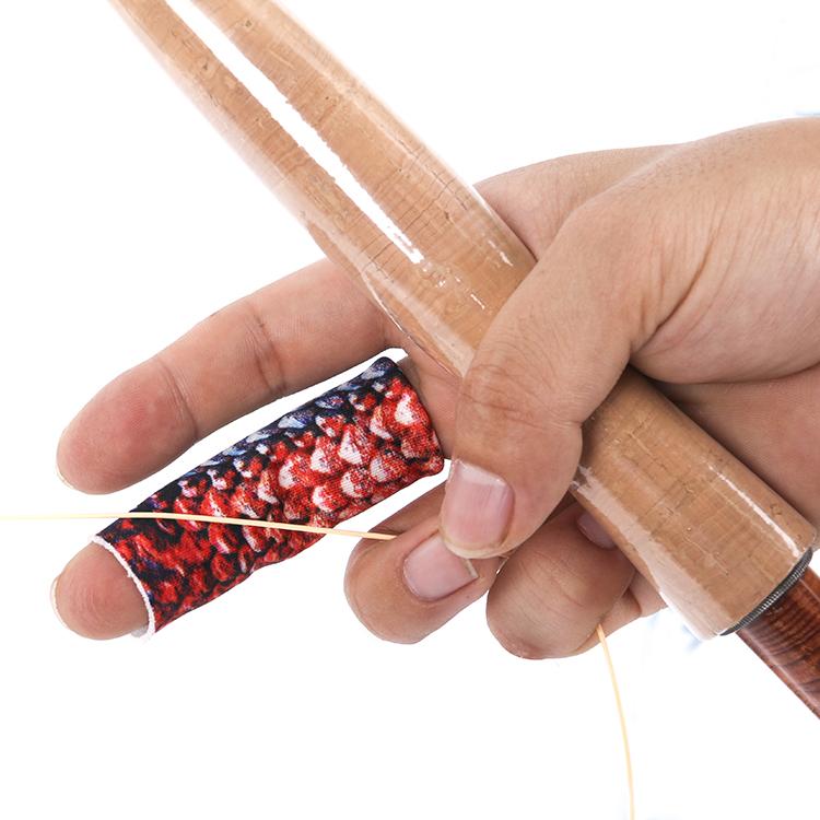 钓鱼单指保护套飞钓防磨护指套路亚手指弹性三只装21热款麦凯诗