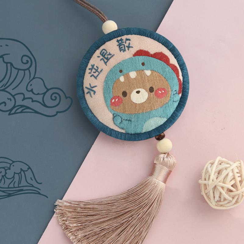 情人节情侣平安符生日礼物送男生男朋友的七夕手工制作diy纪念品