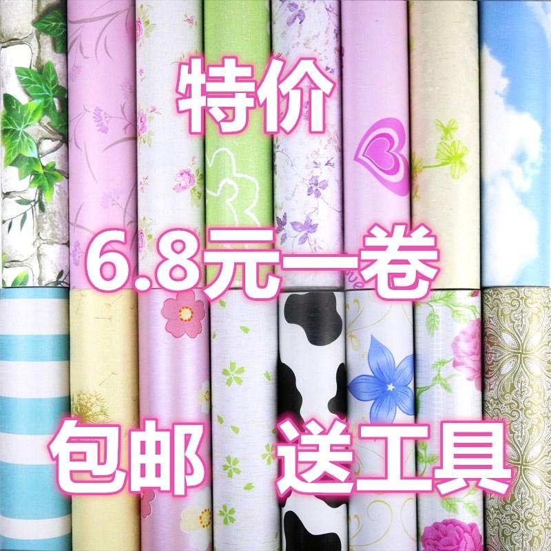 10米墙纸自粘防水装饰墙贴温馨卧室客厅背景墙房间壁纸宿舍翻新贴