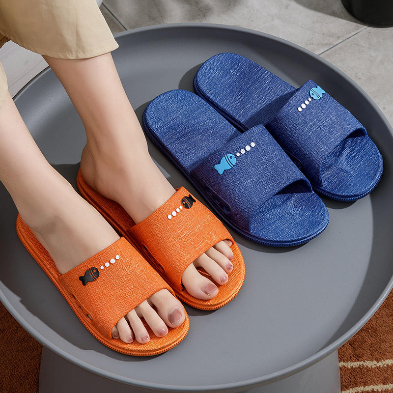 拖鞋女夏季室内防滑洗澡浴室软底可爱情侣居家夏天家用凉拖鞋男