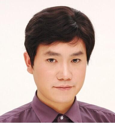 假发男短发中老年人韩版帅气中青年男士短直发发型爸爸中分假发套