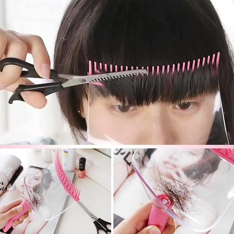 美发剪刘海神器女自己剪儿童专用修剪家用弧形挡板空气齐发型设计