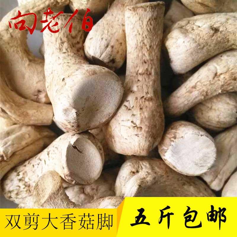 向老伯双剪大香菇脚干香菇丝 商用香菇腿干货冬菇柄花菇脚500g