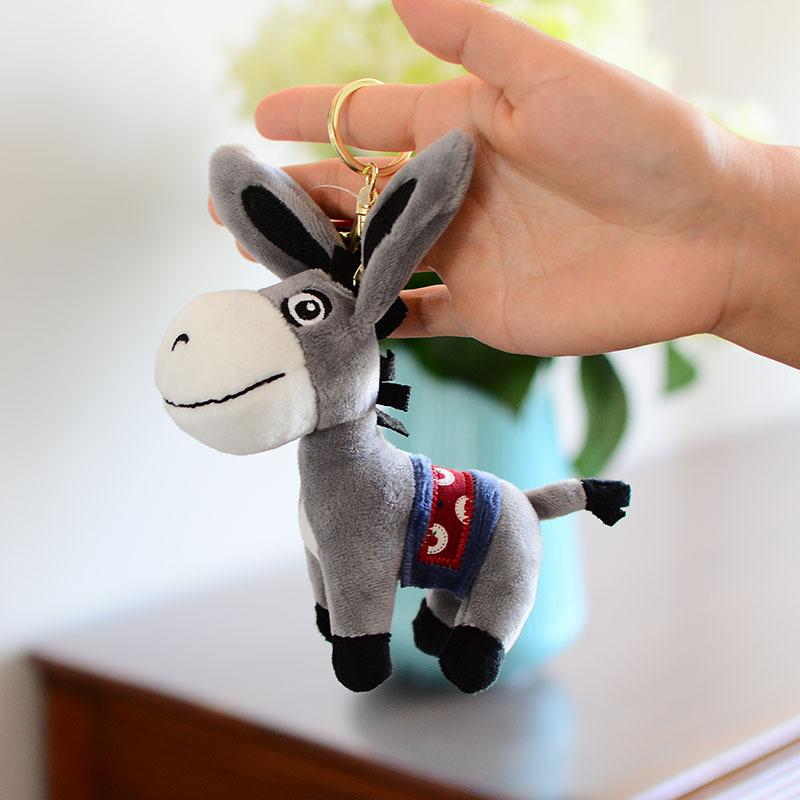 背包驴毛驴精品小驴毛绒玩具小公仔书包挂件挂饰钥匙扣生日礼物女