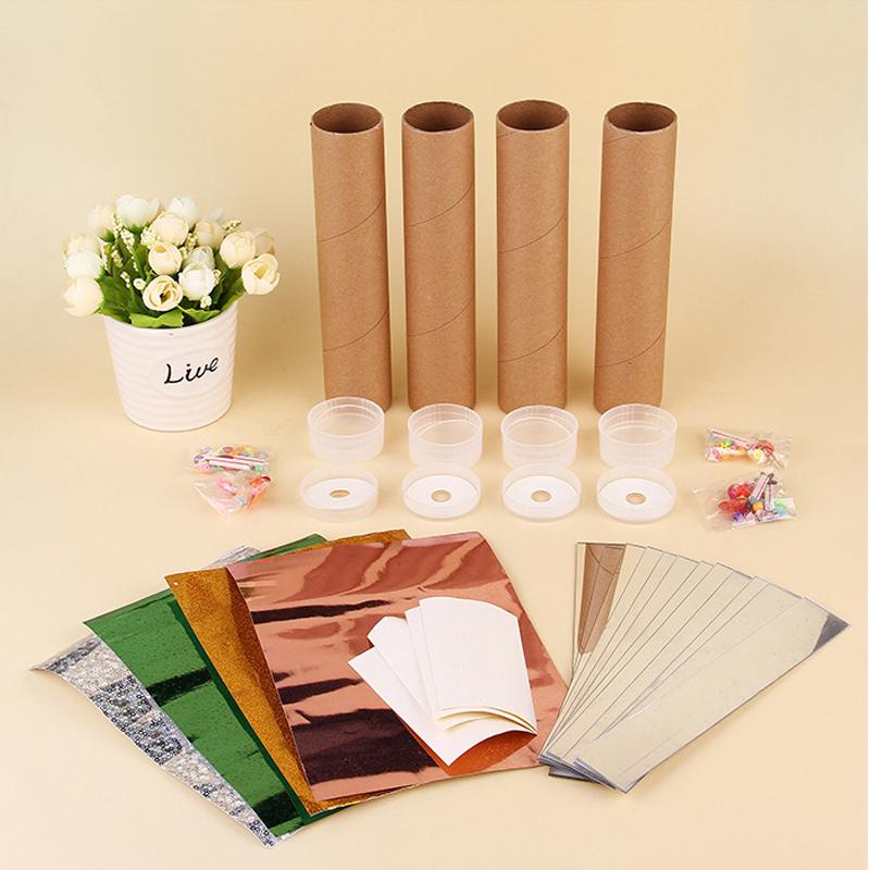 diy万花筒幼儿园儿童手工制作材料包自制科学实验套装科技小发明