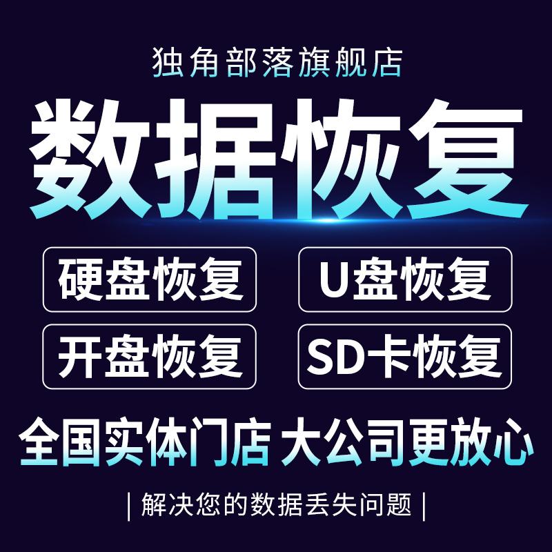 电脑固态移动硬盘数据恢复服务U盘ssd内存卡文件照片视频修复软件