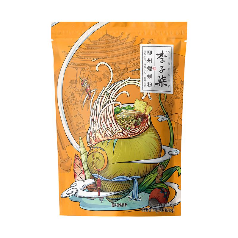 【网红】李子柒柳州螺蛳粉  335g/袋