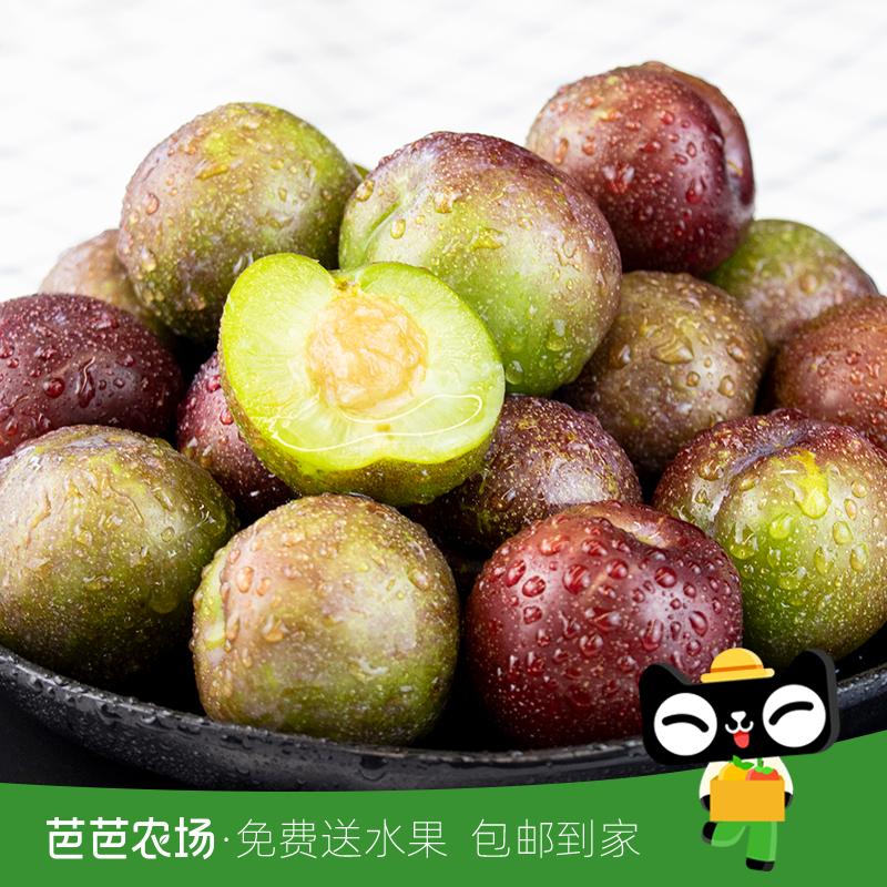 【芭芭农场】五月脆李子3斤单果30-50g