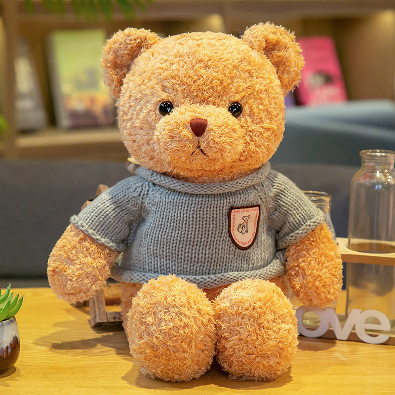 礼盒泰迪熊毛绒玩具熊小熊公仔玩偶布娃娃生日礼物送男女朋友礼品