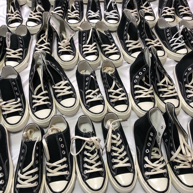 许刘芒 2018春季新款ulzzang帆布鞋韩版百搭chic女学生街拍小白鞋