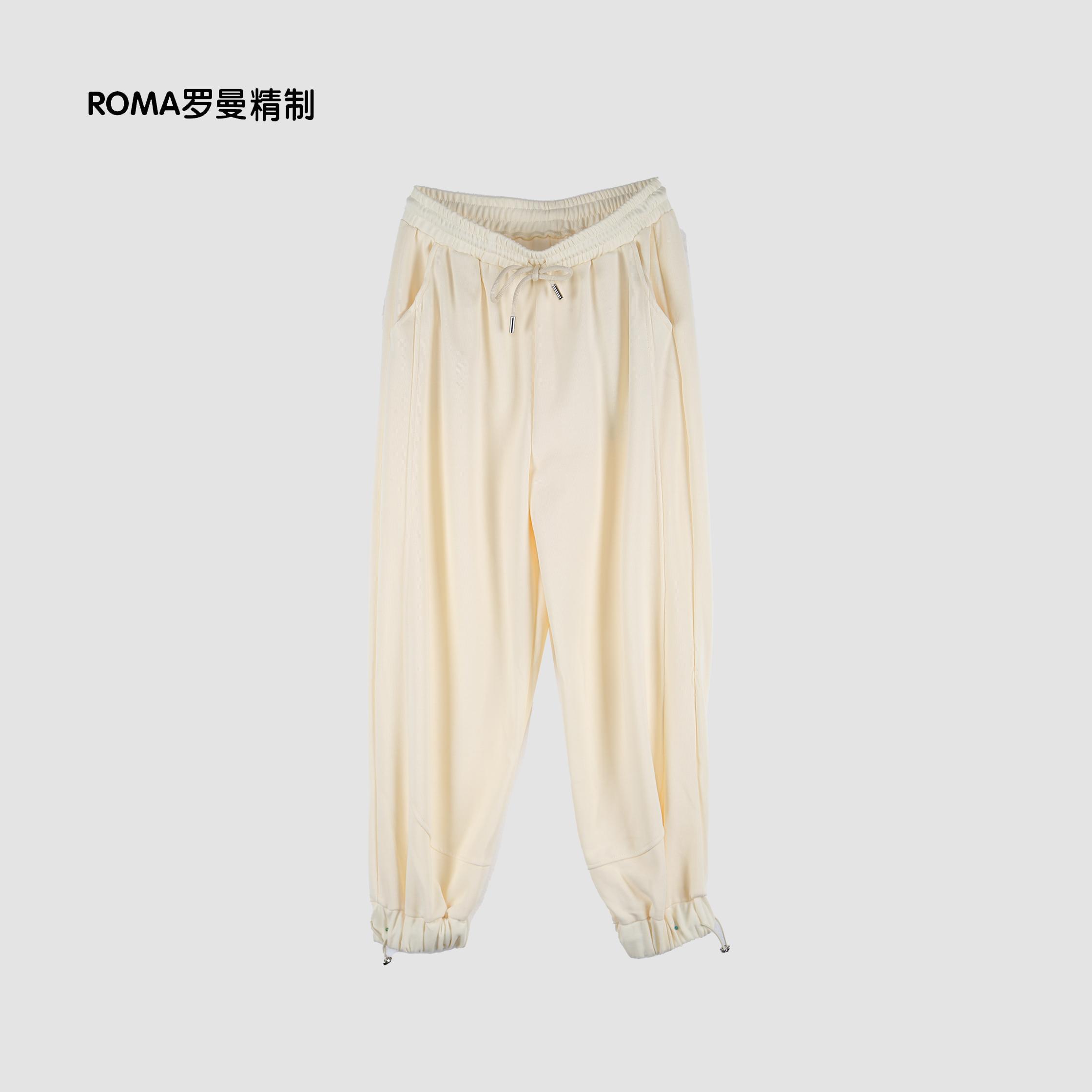 【安琪琪Amy专享】ROMA罗曼精制 2021女士休闲裤  LCMW3K2018