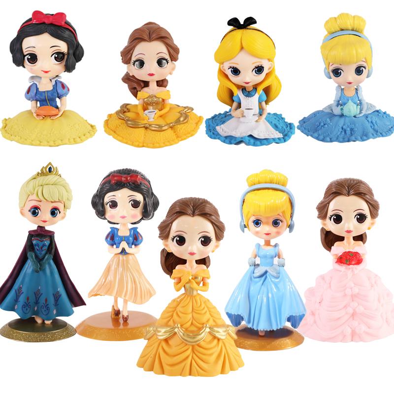 儿童节小公主蛋糕装饰摆件过生日插牌配件公主蛋糕装饰插件
