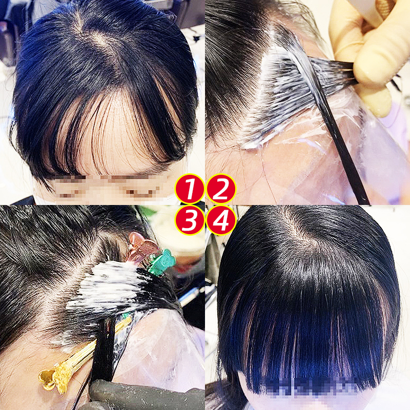 刘海有旋怎么办?头发鬓角发际线中分软化定型膏冷烫水空气刘海