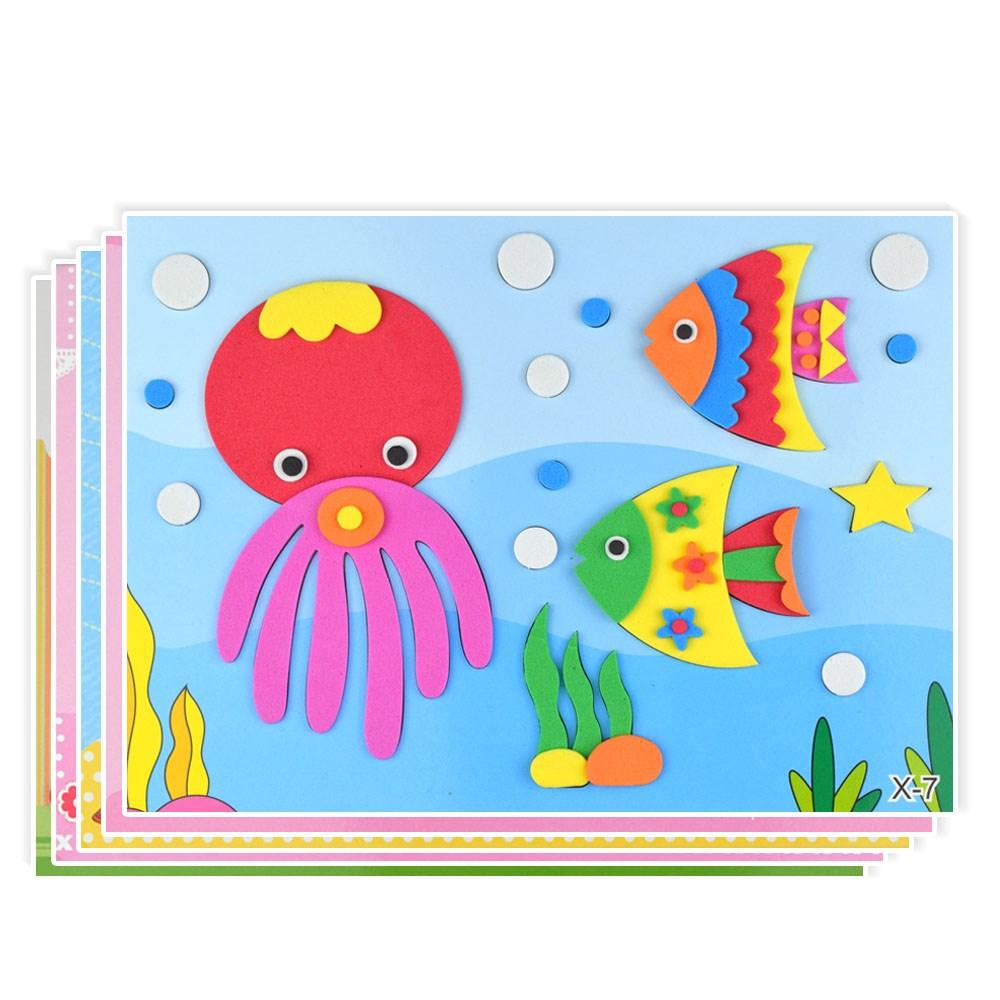 搜图宝 玩具 剪贴玩具 > 玩具剪贴画剪纸模型幼儿不伤手贴纸幼儿园图片