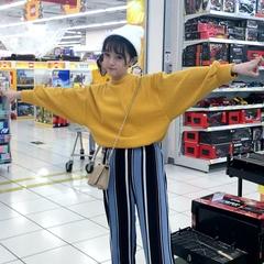 2018秋装新款ulzzang原宿风bf宽松上衣长袖chic卫衣女冬外套学生