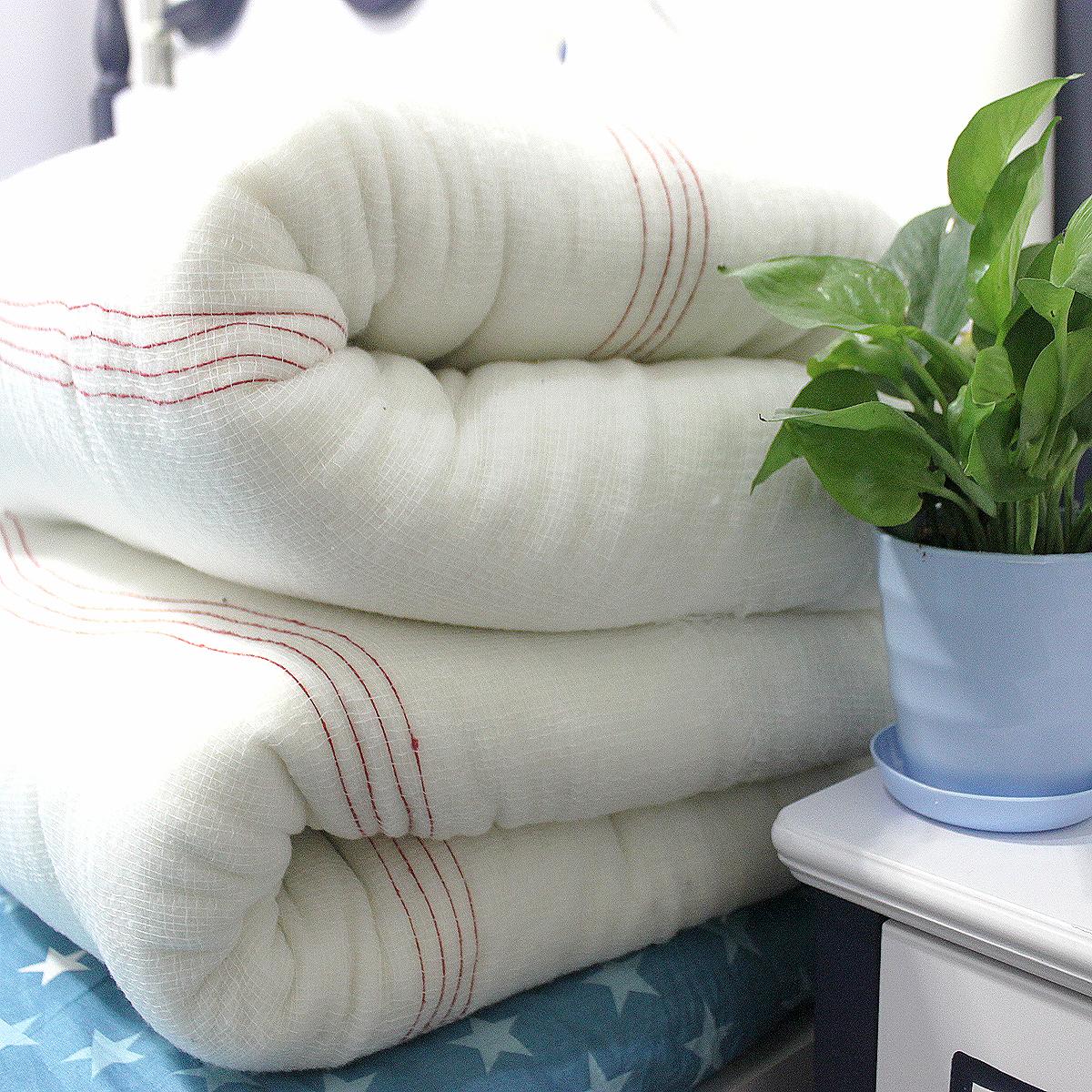 宿舍学生1.2m1.5m1.8米棉被单棉絮被芯加厚保暖褥子双人单人床垫
