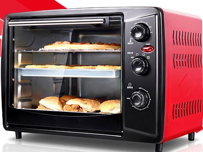 烤箱家用大容量烧饼烤肉机小型电烤箱柜式蛋糕卷家庭面包月饼茄子