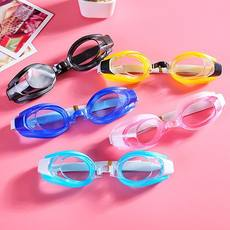 Swimming goggles full protection eyepiece earplugs nose clip diving waterproof men and women children's general sports eye protection!
