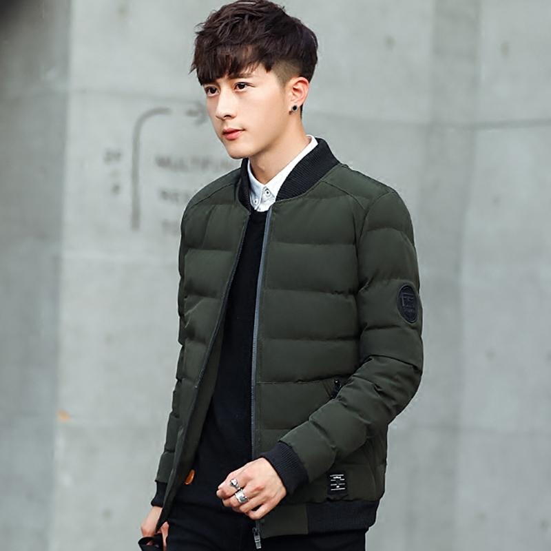 天天特价冬季外套男士棉衣韩版修身短款羽绒棉服冬装夹克男装棉袄