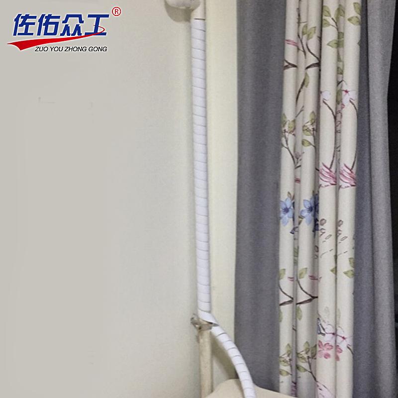 水管保护套 25MM暖气管耐高温管子保护套 暖气管装饰遮挡装饰管道