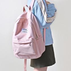PHIUM大容量背包少女小清新ins双肩包高中生大学生书包女2018新款