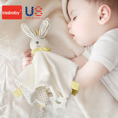 American kissbaby baby comfort towel can enter the baby comfort doll doll 0-1 year old sleep toy