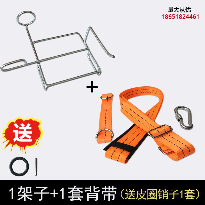 电动扳手锂电架子工通用铁支架腰包挂钩背带腰带挎包电池包挂架