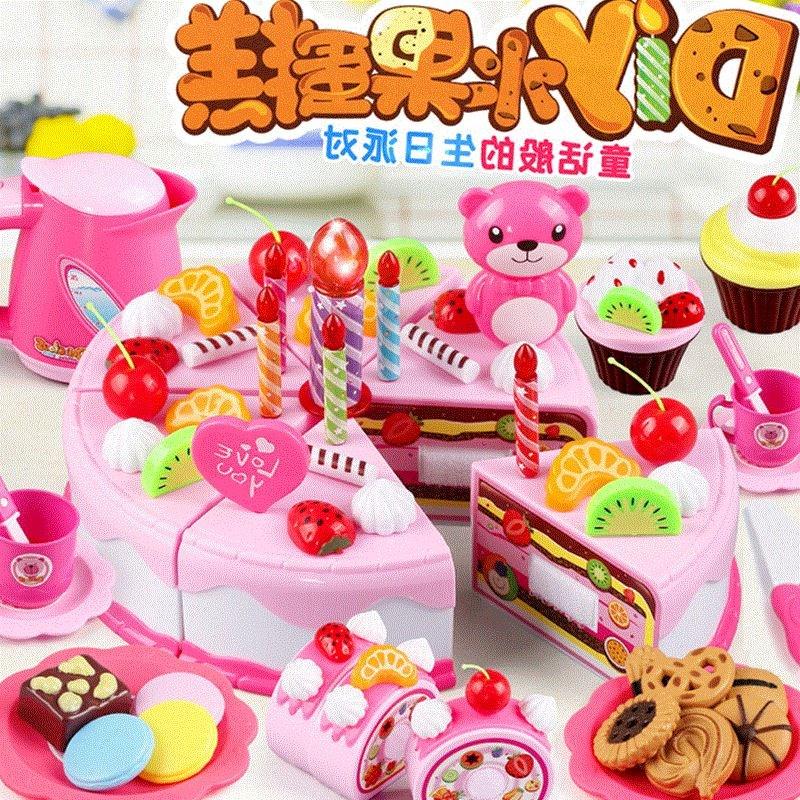 幼儿园作业手工diy 不织布免剪裁材料包 仿真面包 甜点蛋糕 点心图片