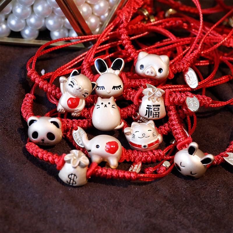 红绳手工编织手链冷淡风手环女韩版简约学生森系闺蜜乐高巴斯光年