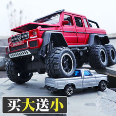 Mercedes-Benz Big G63 Off-road Jeep Car Model Simulation Six Door Metal Alloy Toy Car Child Boy