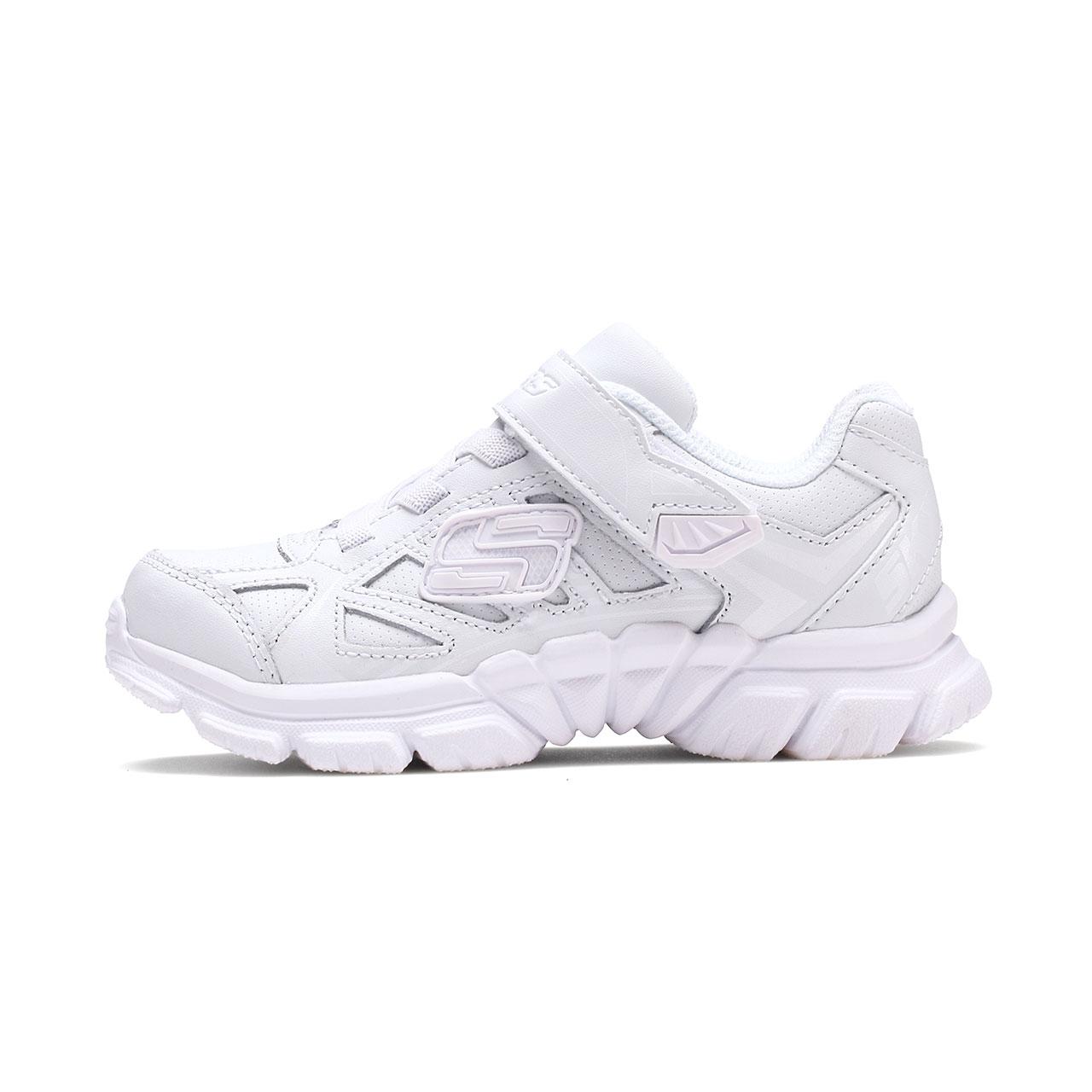 Skechers斯凯奇官方正品男女儿童软底舒适小白鞋运动鞋 998095L