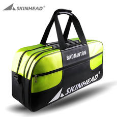 Authentic Skinhead first badminton bag shoulder 3 6 Pack generous package insulated men and women new tennis racket bag