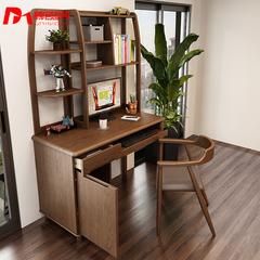 慕尼思北欧实木书桌现代简约书房家具新中式儿童青年电脑桌学习桌