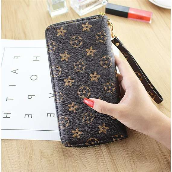 Long wallet ladies clutch bag 2018 new presbyopic small wallet zipper female handbag