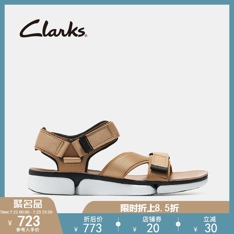 clarks其乐男鞋19夏季新款男士软底运动凉鞋沙滩鞋男TriCove Sun