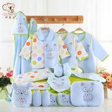 Baby clothes cotton autumn and winter newborn gift box 0-3 months maternal and child supplies spring and summer newborn baby suit