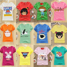 Children's clothing wholesale factory direct sales stalls supply 2018 summer casual children's baby shirt short-sleeved t-shirt