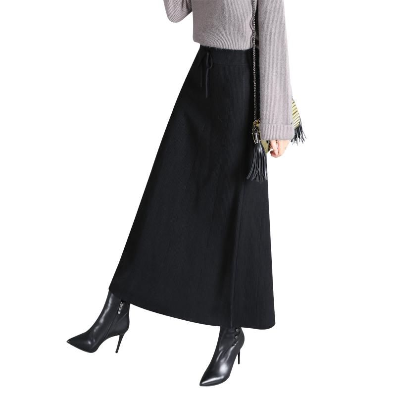 冬日半身长裙,穿出优雅女人味!图片