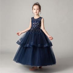 六一儿童演出服蓬蓬裙女童高端表演服走秀礼服公主裙模特比赛服装
