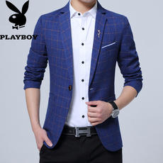 Playboy spring and autumn men's casual suit Korean Slim small suit youth fashion jacket new coat tide