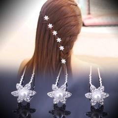 蝴蝶结发饰簪子新婚创意成人漂亮韩国插梳发光夹子流行美头发公主