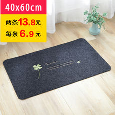 Door mat entrance door mat bedroom door kitchen bathroom water absorbent mat anti-slip mat carpet custom