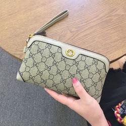 欧美新款大牌钱包女士长款多功能拉链零钱包时尚大容量手拿包2018