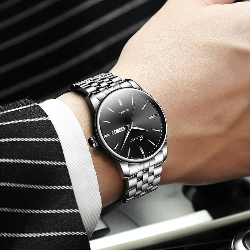 品牌情侣手表时尚男女心形我爱你品牌正品简约日历石英表定制刻字