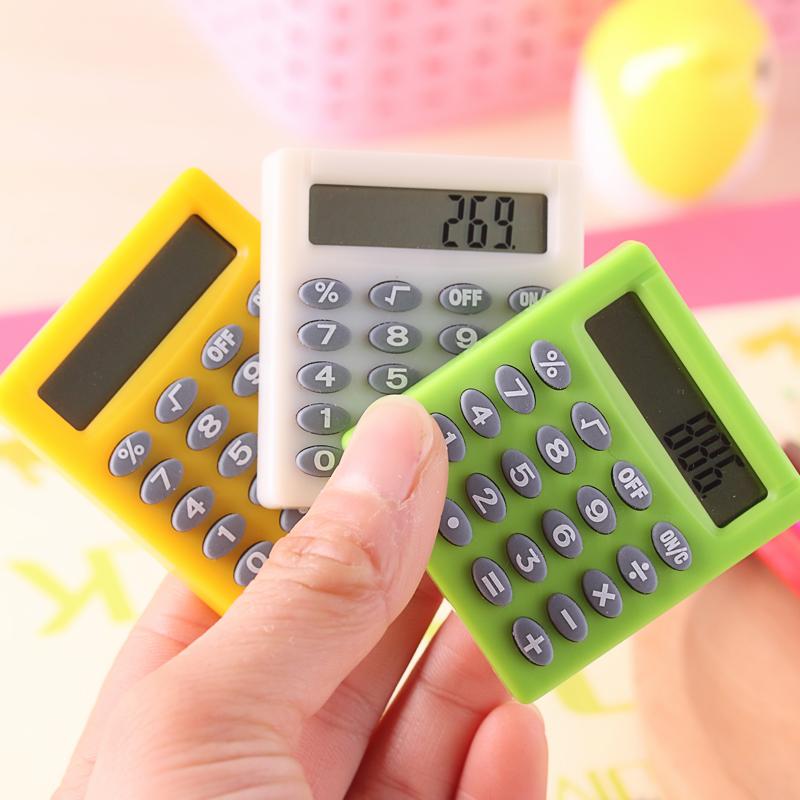 可爱迷你计算器学生考试小计算器 口袋便携式 计算机
