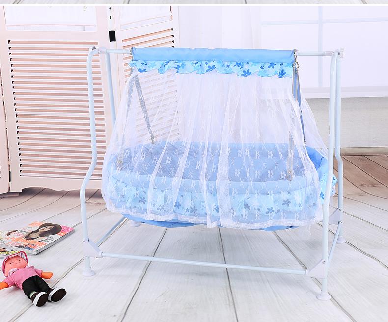 婴儿摇篮床宝宝小摇篮新生儿摇篮床吊床秋千式便携式特价包邮