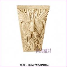 Sandstone fountain sculpture sandstone relief beam towing entertainment venue bar club indoor and outdoor decoration beam support