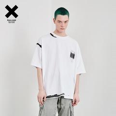 【INXX】大师系列 潮牌短袖T恤宽松男夏宽松创意印花情侣款
