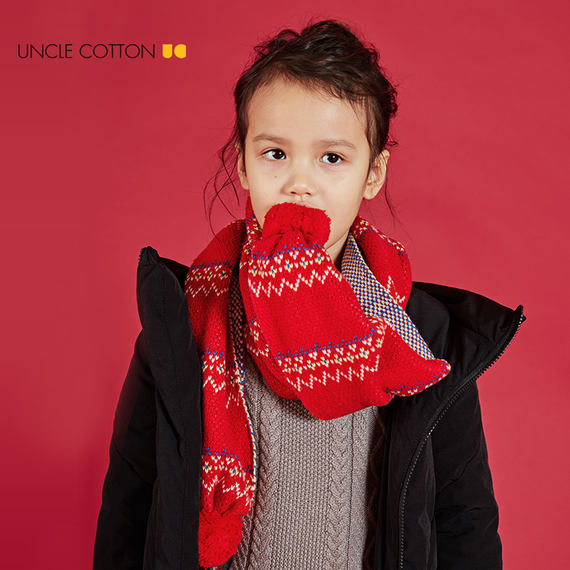 Cotton Uncle Boy Down Jacket New Winter New Child Black Thicken Warm White Duck Down Jacket Boy