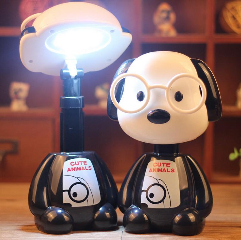 卡通博士狗台灯大白LED充电学习折叠小夜灯幼儿园学校圣诞节礼品